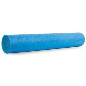 """Prosource Fit Flex Foam Rollers 36"""" for Muscle Massage, Physical Therapy, Core & Balance Exercises Stabilization, Pilates, Blue【並行 lakibox28"""