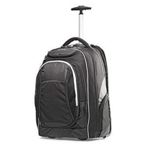 Samsonite Tectonic Wheeled Backpack, Black, 17-Inch【並行輸入品】|lakibox28