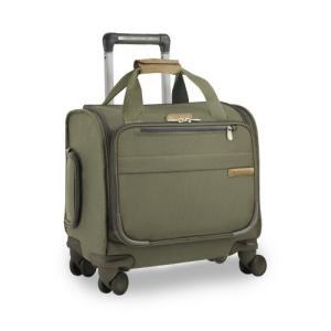 Briggs & Riley Baseline-Softside Cabin Spinner Bag, Olive, Underseater 16-Inch【並行輸入品】|lakibox28