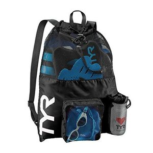 TYR Big Mesh Mummy Backpack For Wet Swimming, Gym, and Workout Gear【並行輸入品】|lakibox28