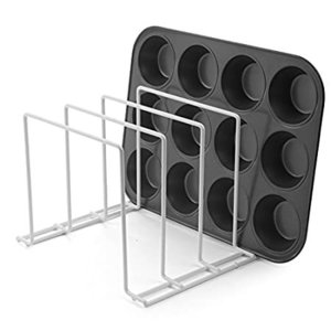 Stock Your Home Large Rust-Free Durable Coated Steel Bakeware Organizer - L好評販売中|lakibox28