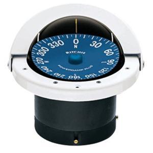 "Ritchie SS-2000W Flush Mount 4.5"" Compass【並行輸入品】|lakibox28"