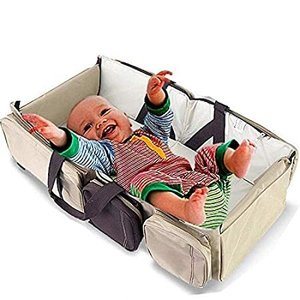 Scuddles 3 in 1 Travel Infant Bed Baby Diaper Bag & Baby Changing Pad Porta好評販売中|lakibox28