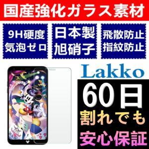 Disney Mobile on docomo DM-01K ガラスフィルム DM-01K フィルム 5.5インチ 気泡ゼロ 飛散防止 Disney Mobile DM-01K 液晶保護フィルム lakko