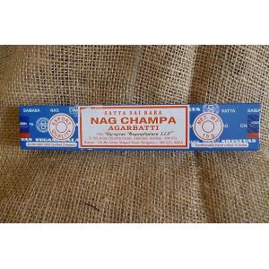 お香 ナグチャンパ香 インド香 スティック香 サイババ アロマ 癒しグッズ レターパック対応|lakshmi2011