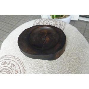 切り株香立て ウッド香たて 天然木雑貨 小物入れ 天然素材 お香用品 個性的雑貨 エスニックお香たて|lakshmi2011