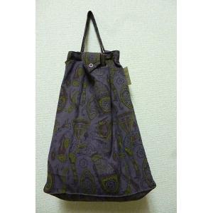 エコバッグ パープル 折りたたみバッグ 携帯バッグ レジバッグ ハンドバッグ ミニバッグ 布バッグ lakshmi2011