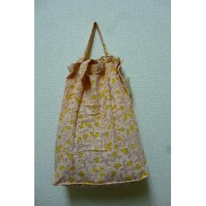 エコバッグ オレンジ 折りたたみバッグ 携帯バッグ レジバッグ ハンドバッグ ミニバッグ 布バッグ lakshmi2011