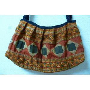 モン族 ショルダーバッグ 刺繍バッグ 個性的バッグ 民族 アジアン エスニックバッグ レディースショルダーバッグ lakshmi2011