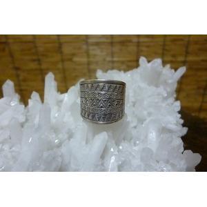 カレンシルバー リング エスニックC 15号 シルバーリング 民族アクセサリー エスニックリング アジアンアクセサリー 指輪 レディースリング|lakshmi2011