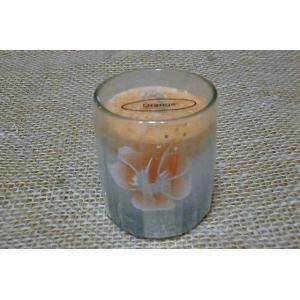 アロマキャンドル オレンジ 癒し ろうそく おしゃれキャンドル 可愛いろうそく キャンドル 香り|lakshmi2011