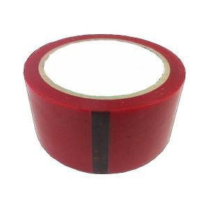 全7色 カラーOPPテープ(赤)48mm×40m ばら売り|lalachyan