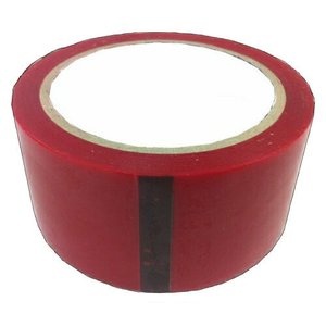 全7色 カラーOPPテープ(赤)48mm×40m×5巻 パック|lalachyan