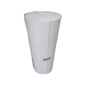 真っ白な 片ダンボール シート 白クラフト巻ダンボール1000mm×50m|lalachyan