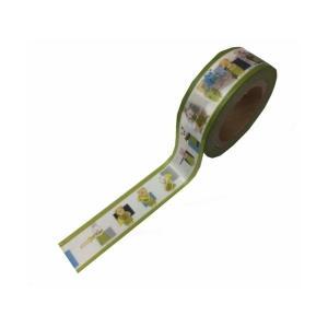 LALACHYANオリジナルデザインマスキングテープ 103004(エンジョイブラスバンド緑) lalachyan