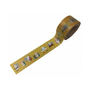 LALACHYANオリジナルデザインマスキングテープ 103005(エンジョイブラスバンドゴールド風) lalachyan