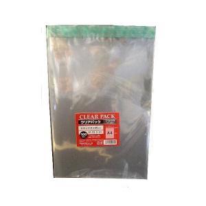 透明 ワンタッチOPP封筒TP22.5-31×100枚 A4サイズ用 封緘テープつき|lalachyan