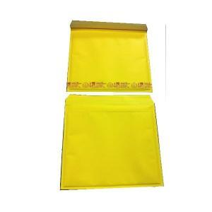 黄色い クッション封筒 ポップエコ855T×10枚 パック B4冊子、B4ファイル用 送料無料|lalachyan