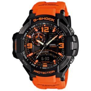 男性用 腕時計 CASIO G-SHOCK カシオ 海外モデル 登山用 気圧 方位 温度 ネオンイルミネーター|lalalady-shop