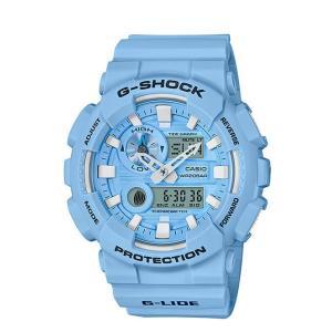 男性用 腕時計 CASIO G-SHOCK 海外モデル G-LIDE 耐磁時計 温度計測機能 ムーンデータ タイドグラフ|lalalady-shop