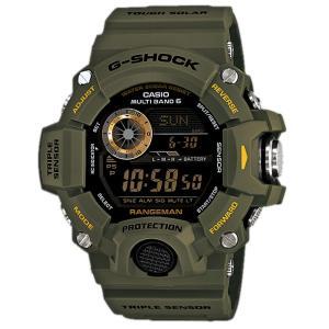 男性用 腕時計 CASIO G-SHOCK カシオ 海外モデル タフソーラー 登山用 電波受信 方位 気圧 高度他|lalalady-shop
