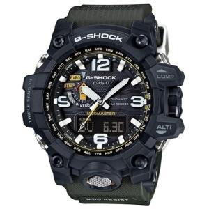 男性用 腕時計 CASIO G-SHOCK 海外モデル マッドマスター 登山用 タフソーラー 電波 方位 気圧 高度|lalalady-shop