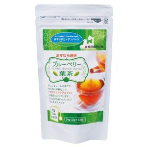 ブルーベリー葉茶 ティーバッグ 2g×12包 青森県平川市産 国産 あすなろ ブルーベリー|lalasite