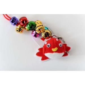 ミニ腰吊鈴 ねぶた祭 祭用品 金魚|lalasite