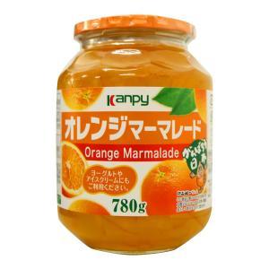 オレンジマーマレード Kanpy 780g 瓶 大容量 糖度62度|カブセンターPayPayモール店