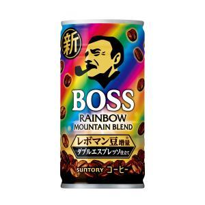 ボス レインボーマウンテン ブレンド 185g×30本入 BOSS サントリー ※2ケースまで同梱可 缶コーヒー|lalasite