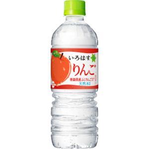 いろはす りんご 青森 ふじ ふじりんご使用 コカ・コーラ 555mlペット 24本入 エリア限定 ミネラルウォーター ※2ケースまで1ケース分の送料で同梱可能です。|lalasite
