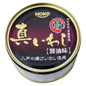 青森の正直 真いわし醤油味 200g×6個 備蓄用に ホニホ 宝幸|lalasite