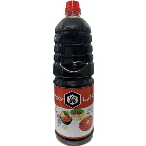 しょうゆ 濃口醤油 ワダカン グローリィしょうゆ グローリー 1800ml  こい口 混合|lalasite