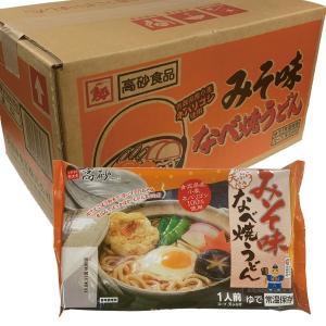 なべ焼うどん みそ味 味噌 5食入箱 高砂食品 鍋焼きうどん なべ焼き 高砂 青森県 たかさご |lalasite