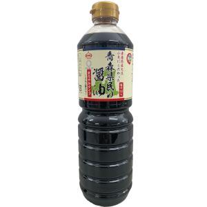 しょうゆ 青森県民の醤油 まろやかタイプ りんご酢入り KNK 上北農産加工 1000ml 6本入箱|lalasite