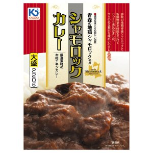 青森シャモロックカレー 220g×5個 地鶏シャモロック 味の海翁堂|lalasite