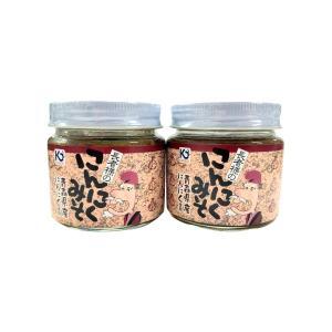 長者様のみそにんにく にんにく味噌 甘口 135g×6個 青森県産にんにく 味の海翁堂|lalasite