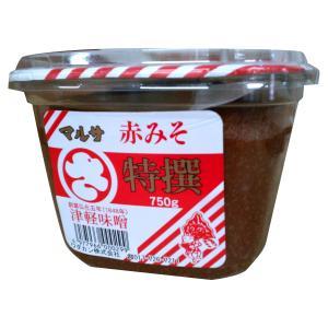 マルサ特撰 津軽味噌 赤こし 750g ワダカン|lalasite
