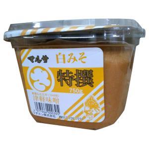 マルサ特撰 津軽味噌 白こし 750g ワダカン|lalasite