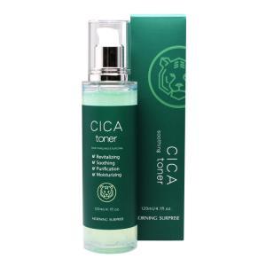 モーニングサプライズ シカ トナー 化粧水 CICA 酵母 肌荒れ 毛穴|lalume