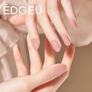 EDGEU エッジユー ジェルネイルシール 硬化 貼って固める セルフネイル ネイルステッカー END110 ASH PINK lalume