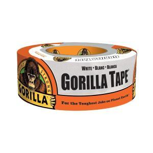 呉工業 ゴリラテープ ホワイト 1777 超強力多接着 厚手 ダクトテープ 補修テープ