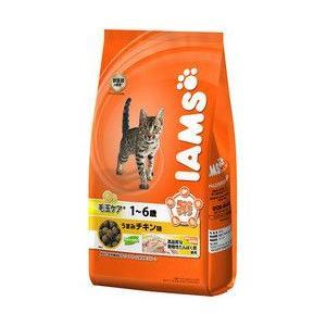 アイムス[IAMS] 毛玉ケア 成猫用 1〜6歳 うまみチキン味 850g