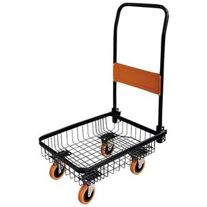 バスケット台車 O&B [オレンジ&ブラック] PH0605A 耐荷重60kg|lamd|02