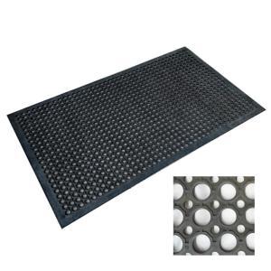 穴有りゴムマット  12×600×900mm KM101|lamd