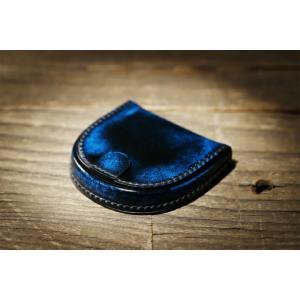 パーリィークラシック 馬蹄型小銭入れ PC-01 ロイヤルブルー|lamd