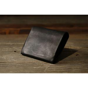 パーリィー ディアシーブ 二つ折り財布A ギフトBOX付 DS-25 ブラック