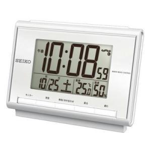 「送料無料」  SEIKO セイコー 目覚し時計 SQ698S「温度・湿度表示機能つき」 |lamd