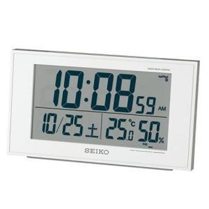 「送料無料」 SEIKO セイコー 目覚し時計 SQ758W|lamd
