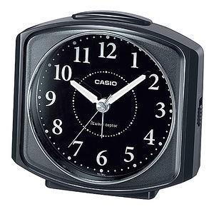 カシオ アナログ電波目覚し時計 TQ-700J-1BJF|lamd